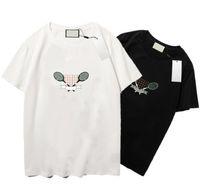 21SS Designer T-shirt für Männer Frauen Buchstaben Druck Sommer Herren T-Shirts Mode Kurzarm Homme Atmungsaktive Kleidung S-2XL 4 Arten