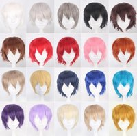 30CM 20 Colour Game Persona 5 Kurusu Akira Short Wig Cosplay Costume Heat Resistant Synthetic Hair Joker Amamiya Ren Men Wigs