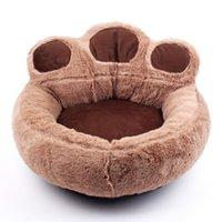 개집 펜 애완 동물 개 고양이 겨울 따뜻한 양털 침대 라운드 작은 중형 대형 침대 귀여운 개집 강아지 소파에 대 한