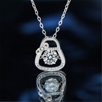 Women's Moissanite O-shaped Necklace, Dress, Accessories, Six Styles, Multiple Choices, Neck Jewelry