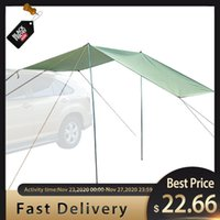 Tents And Shelters 5-8 Persons Outdoor Camping Tent Folding Car ShelterAnti-UV Garden Fishing Waterproof Awning Picnic Sun Shelter