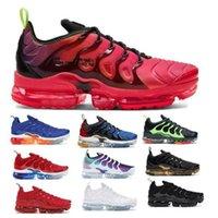 TNS TN Plus Koşu Ayakkabıları Erkekler Sneakers Buharlar Neon Üçlü Siyah Kırmızı Limon Lime Betrue Oyunu Kraliyet Maxes Erkek Kadın Eğitmenler Boyutu 36-47
