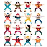 NewDecompresión Fidget Toy Children's Hércules Apilada Música Pila equilibrada Alto Juego de escritorio Parental Bloques de construcción Tiktok Toys EW