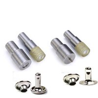 Bag Parts & Accessories Single Double Cap Rivets Dies Mould Tool Installation Electric Mold Leather Sewing Snaps Craft DIY