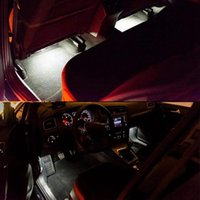 4Pcs LED Footwell Lights Interior Light with Wiring Harness ...