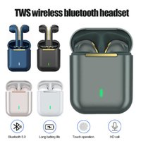 Headphones & Earphones TWS Wireless Earphone With Mic Touch Control Waterproof HiFi Stereo Noise Cancelling Bluetooth Earbuds For Sport Trav