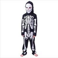 Fábrica al por mayor! Disfraces de artes marciales Disfraz de niños para hombres Mujeres Ropa Esqueletos Sketelon Ghost Ropa Partido Horror Dress Up Halloween Tostumess