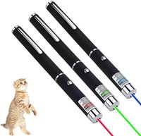 3 red, green and blue laser pens are suitable for cat, dog and pet interactive toys, chasing sports and entertainment toys, suitable for