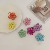 Hair Accessories Fashion Exquisite Small Geometric Claw For Women Girls Clamps Crab Metal Clip Headwear Flower 1Pc