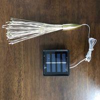 불꽃 놀이 태양열 문자열 조명 200 LED 태양 램프 8 모드 LED 조명 장식 크리스마스 813 B3에 대 한 장식 크리스마스 빛