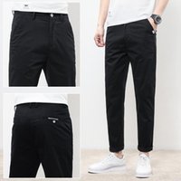 Men's Pants 5 Colors Spring And Summer Slim Casual Fashion Business Cotton Brand Thin Trousers Classic Style