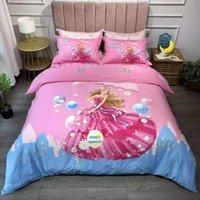 Weiche Baumwolle Bettwäsche-Sets Home Bettbezug 4 Stück Tröster-Cover-Bettwäsche Kissenbezüge Königin Größe