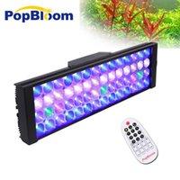 """Aquariums Lighting PopBloom Shannon40 LED Aquarium Light Full Spectrum для пресноводных растений Рыбика Бак 24 """"/ 60см"""