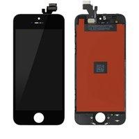 Yüksek Parlaklık Sınıf A + + + LCD Ekran Dokunmatik Ekran Panelleri iPhone 5G 5 S Tam Set Meclisi LCDS Sayısallaştırıcı Yedek Parçalar Hayır Ölü Piksel