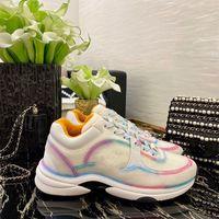 Top Calidad Hombres y mujeres reflectantes Casual Zapatos Mujeres Partido Terciopelo Calfskin Fibra Mixta Top Sneakers