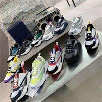 캐주얼 신발 스니커즈 고품질 남성 여성 신발 Pelle Scamosciata Parigi Dei Pattini Della Piattaforma 패치 워크 스니커즈 Shoe0 Anikaa