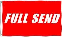 Full enviar bandeira vermelha com bronze ilhas nelk meninos bandeiras 3x5 ft Enviar completo Poster 90x150cm jardim decoração de parede banner