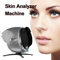 3D البشرة ماسحة محلل الأشعة فوق البنفسجية ضوء تحليل الوجه visia تشخيص آلة الرطوبة الجمال