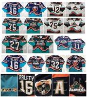 1995 Vintage 16 Ziggy Palffy Jersey New York Islanders 11 Darius Kasparitis 33 Trevor Linden 22 Mike Bossy Chara Brett Lindros CCM Hóquei