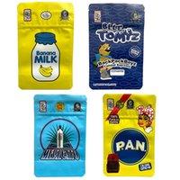 BB BOYZ 3.5G Mylar Sacs Sacs-cadeaux Sac à dos Boyz Sac pour enfants Sacs d'emballage à l'odeur à l'odeur à l'odeur avec 3D Hologram Stickers Cookies Runtz
