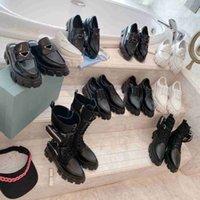 NOUVEAU Cuir ROIS et monolithe Boot de ré-nylon Bottines Martin Bottes Militaire Bottes de combat Militaire Bottes en nylon attachées à la cheville avec bracelet