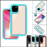 Для iPhone 11/11 Pro / 11PRO MAXS прозрачный Прозрачный модный и простой амортизационный антиупайный корпус мобильного телефона TPU