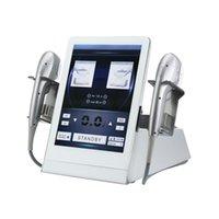 المحمولة 7D HIFU الجسم التخسيس وجه آلة رفع مع 7PCS عالية enphority ركز خراطيش الموجات فوق الصوتية لتشديد الجلد إزالة الدهون