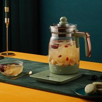 Электрические чайники ретро зеленый чайник быстрый быстрый нагревательный кипящий горшок