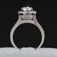 fashion ring women jewelry 2021 new silver plated zircon female ring wedding ring free shipping 022714