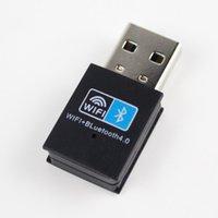 مصغرة USB WiFi Bluetooth 4.0 محول 150M اللاسلكية WiFi شبكة بطاقة بلوتوث محول لاسلكي لسطح المكتب الكمبيوتر المحمول