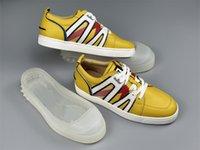high quality Lu Boting VIDA VIVA Men's Board Casual Shoes Red B0TTOM designer luxury sneakers JERRYBRANDSTORES