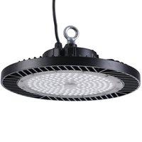 Astnait UFO High Bay Warehouse Industrial 200W 6000k impermeable 110V 220V IP65 LED Luz blanca D350mm