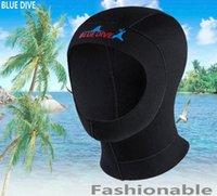 Cap de plongée 3mm Enfants et Casque adulte Hiver Natation Gardez le masque de plongée à la natation antidérapante