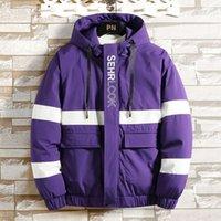 Winter Men Parka Et 2021 Casual Mens Down Coats Thicken Warm Cotton-padded Outerwear Slim Soild Patchwork Clothes