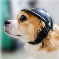 Dog Apparel Cosplay Dress Up Helmets For Bike Motorcycles Cool Fashion Hat Pet Protect Safety Ridding Costume Accessories Headwear