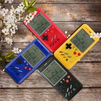 Retro Handheld Game Players Tetris Classic Childhood Game Electronic Games Toys Console Riddle Educational Juguetes para niños