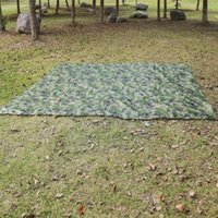 Tents And Shelters 230*140cm Camouflage Outdoor Ultralight Tarp Camping Shelter Waterproof Mat Rain Multifunctional Survival Beach H3p5