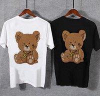 Yeni 2021 Moda Rahat Kısa Kollu Rhinestone Tshirt Slim Fit Erkek Sıcak Matkap Iş Gömlek Marka Erkekler Giyim Yumuşak Com KWDP