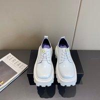 Senhoras Outsole Sapatos Respiráveis Sole Grosso Salto Alto Sapatos Casuais Não-Slip Sapatos de Produção de Bordas Abra Beads Beads Preço de Fábrica Price Tamanho 35-40