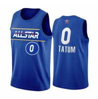 2021 All-Star Jayson Tatum Jersey Blue Eastern Conference CelticsMänneruniform