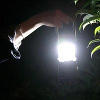 Lampenlampe LED Camping Light USB wiederaufladbare dimmbare Scheinwerferarbeitslicht wasserdicht Suchscheinwerfer Notfälle
