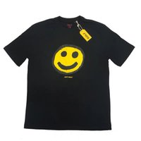 Golf Wang smile face Tee Shirt Men's and women's round neck loose short sleeve summer fashion Z8BO