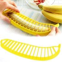 Vegetable Kitchen Dining Bar Home Garden Drop Delivery Banana Slicer Chopper Cutter Peeler Fruit Salad Sundaes Cereal Easy Tool DDA6028