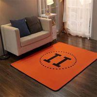 Домашний ковер роскошный дизайнер ноги коврик классический стиль отель буква шаблон без скольжения коврик
