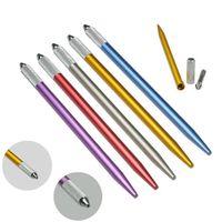 2021 Microblading caneta tatuagem máquina de maquiagem permanente maquiagem manual caneta 3d sobrancelha bordado bordado titular ferramenta