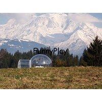 Надувная палатка для надувной рекламы, на открытом воздухе, палатки на открытом воздухе, 3-4 человека Открытый кемпинг купольные палатки купола, чистые свадебные палатки надувные купола