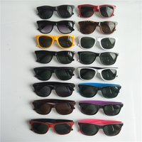 26 Diseñador de colores Gafas de sol para hombres Moda Mujer Lujo Gafas de sol Personalidad Tendencia Revestimiento Reflexivo Eyewear