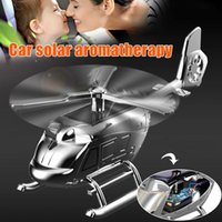 Car Air Freshener Solar Helicopter Fragrant And Home Toy Decoration For Office Travel Vehicle M8617