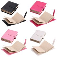 PU Jewelry Box Book Modeling Earrings Ear Studs Storage Boxes Black Blue White Storages Case New Arrival 9 5sp L1