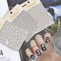Stickers & Decals 1Sheet 5D Bubble Design Nail Art Sticker Lovely Vivid Colorful Ultra-thin Self-adhensive Decal Back Glue Manicure Tips